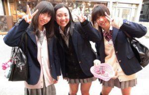 дресс-код студентов в Японии