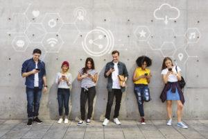 общение молодежи в соцсетях